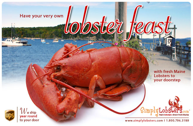 Buy Maine lobster online, quick lobster delivery with low prices anywhere in the United States, lobsters direct from our boats to your door steps, click here to order now.
